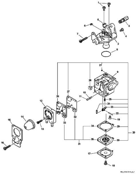 echo srm 210 parts diagram buy echo srm 210 trimmer carburetor parts