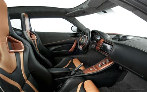 Lotus Interior by 2010 Lotus Evora 414e Hybrid Interior Wallpaper Hd Car