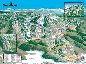 steamboat colorado trail map steamboat colorado ski trail map elevation terrain opening