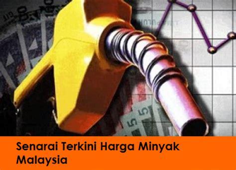 Minyak Terkini harga minyak petrol ron95 ron97 dan diesel di malaysia