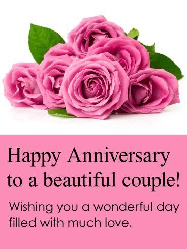 Wedding Anniversary Wishes Chacha Chachi by To A Beautiful Happy Anniversary Card Chacha And