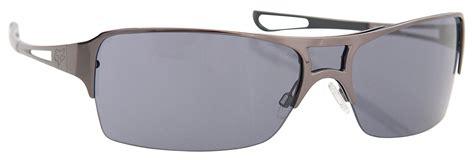 sunglass carti fox black fox racing fox the wade sunglasses black chrome grey lens