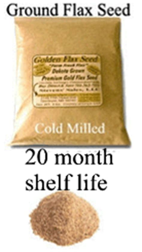 Flax Seed Shelf by Real Cold Milled Flax Seed For Human Consumption 3 Lb