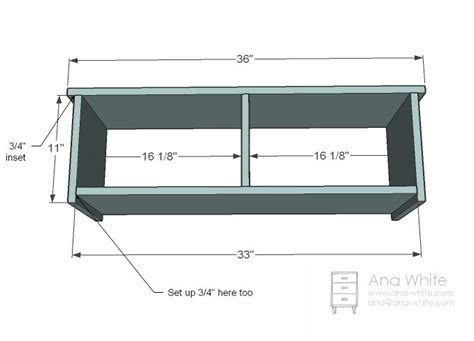cubby bench plans ana white build a cottage bench with storage cubbies