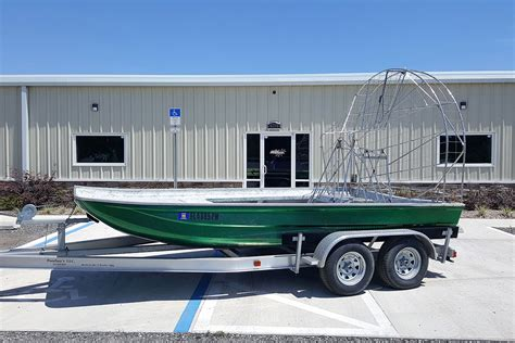 airboat used preowned 2015 marsh master airboat for sale