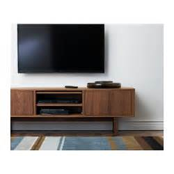 ikea tv shelves stockholm tv bench walnut veneer 160x40 cm ikea