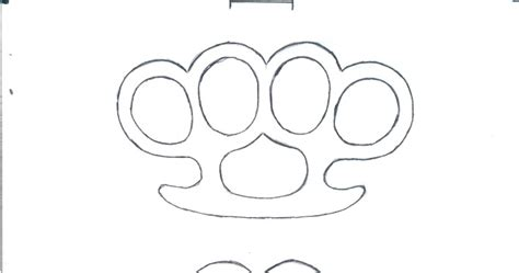 brass knuckles template weaponcollector s knuckle duster and weapon brass
