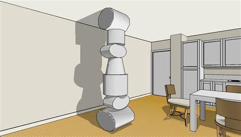 come rivestire una colonna portante interna come decorare una colonna portante