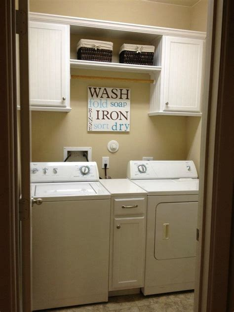 Premade Laundry Room Cabinets Walls Construction Laundry Room Makeover