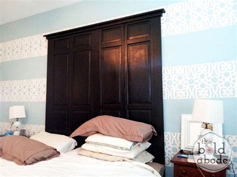 Closet Door Headboard by Shaker Style Door Headboard Baby