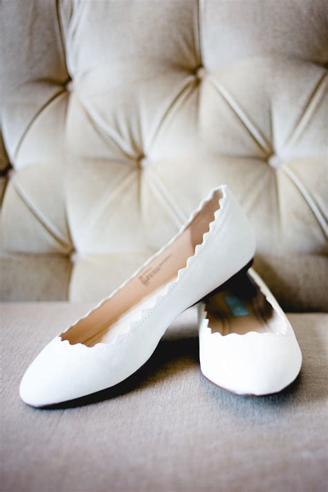 flat shoes for a wedding rustic real wedding white ballet flats bridal shoes