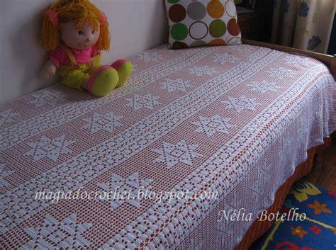 magiadocrochet blogspot magia do crochet colcha e almofada em crochet para cama