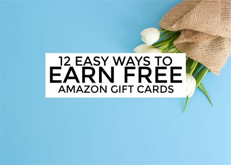 how to earn free amazon gift cards ways to earn amazon gift cards - How To Make Money For Amazon Gift Cards