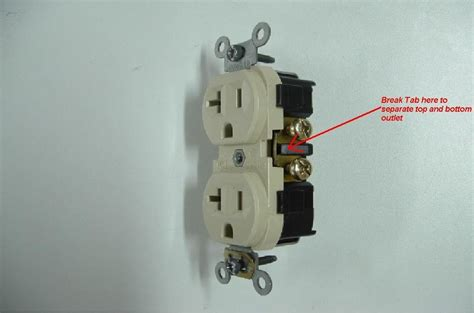 outlets   switched   side