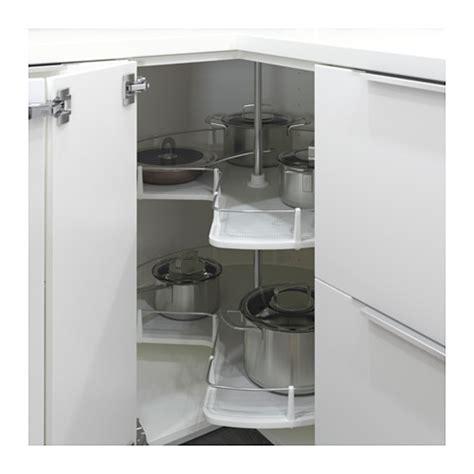 Corner Carousel Kitchen Cabinet Utrusta Corner Base Cabinet Carousel 88 Cm Ikea
