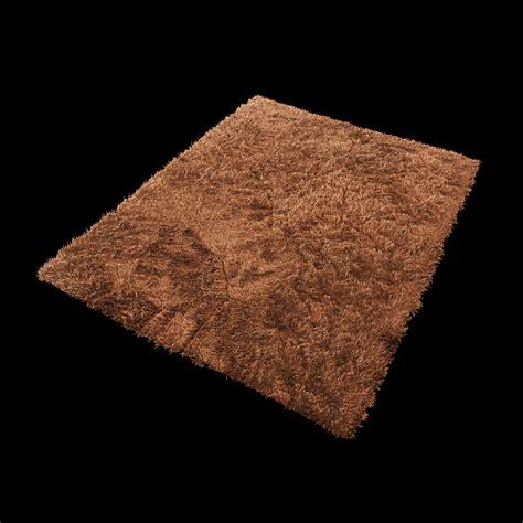 3d Model Rug by Carpet Fur 3d Model Max Cgtrader