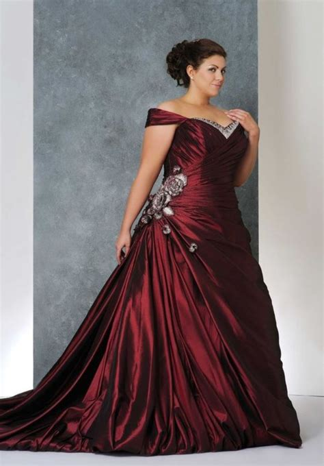 wedding dress with color plus size wedding dresses with color weddingwoow