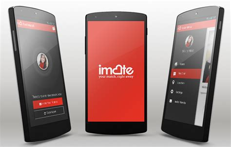 Imate Dating Android Template Android Mobile App Templates