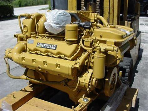 caterpillar boat engines caterpillar 3208ta rblt marine engine