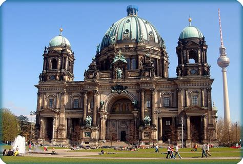 Adobe Homes Plans the berlin cathedral berliner dom the largest