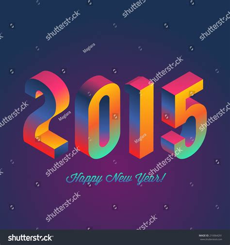 new year 2015 poster design happy new year 2015 poster design vector illustration