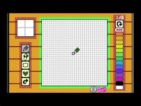 pattern maker games animal crossing pattern maker for game boy advance youtube