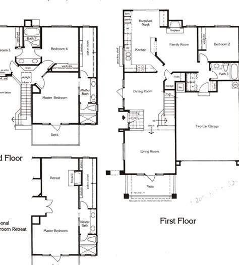 summit floor plans valencia summit san marino tract homes and real estate