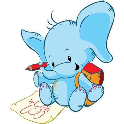 imagenes infantiles elefantes vinilo infantil elefante dibujo