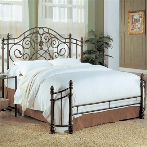 Cheap Headboard And Footboard Set by Brown High Gloss Finish Single Size Trundle Bed