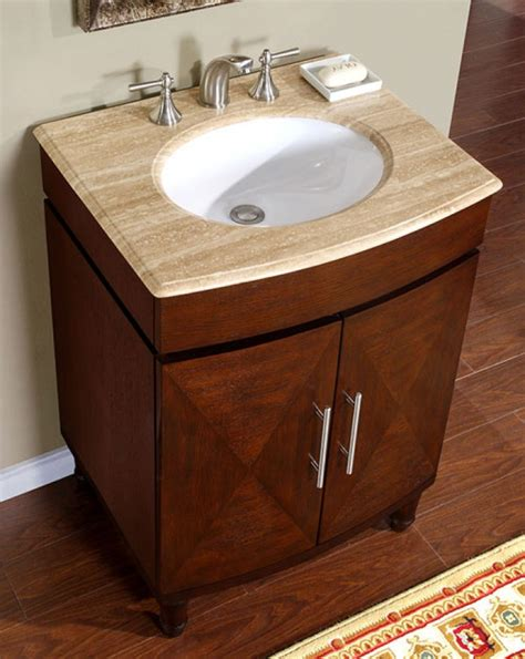 26 inch bathroom sink 26 inch single sink vanity with a unique pattern on the