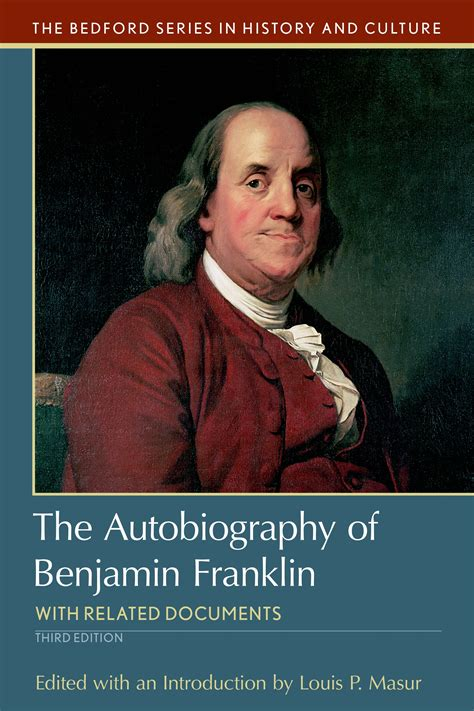 biography benjamin franklin the autobiography of benjamin franklin 9781319048990