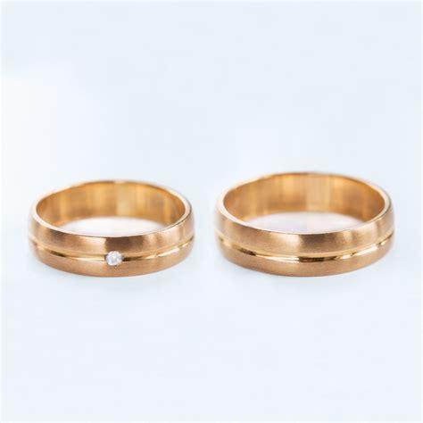Hochzeitsringe Rosegold by Klenota Goldene Hochzeitsringe Trauringe Ros 233 Gold