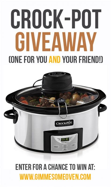 Crock Pot Cooker Giveaway And The Winners Are by Cooker Teriyaki Chicken Gimme Some Oven