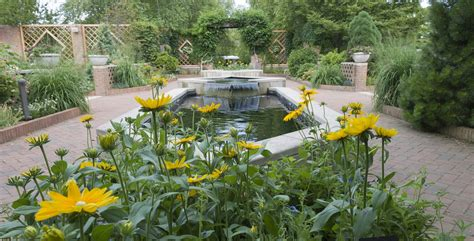Demonstration Gardens At The Chicago Botanic Garden Chicago Botanic Garden