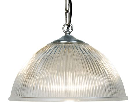 glass ceiling light traditional ribbed glass ceiling light on chain suspension