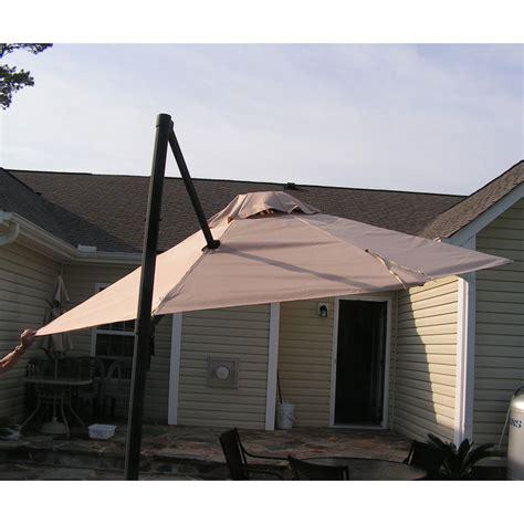 garden treasures ag umbrella replacement canopy garden winds