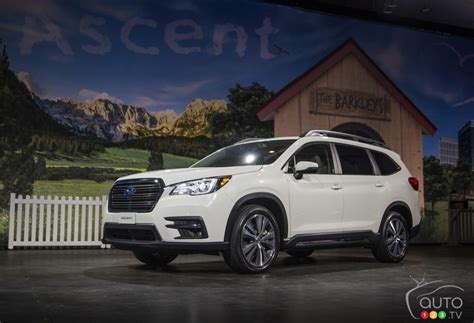 subaru ascent posts attractive base price  canada car news auto