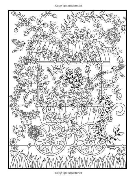 coloring pages for adults enchanted hidden garden an adult coloring book with secret forest