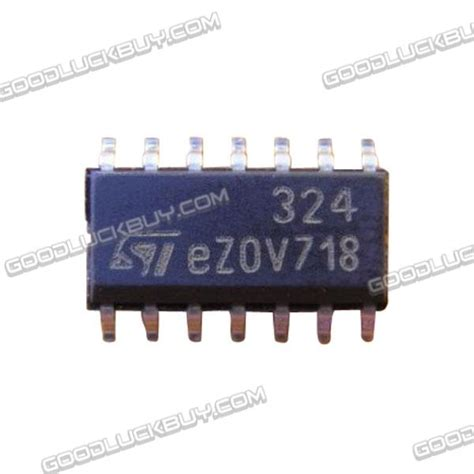 Ic Power Lm318n 10pcs lm324dt lm324 low power op smd soic 14