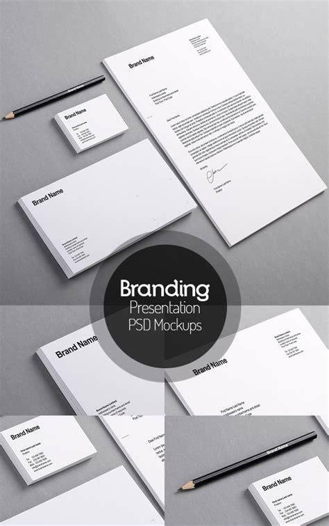 50 Free Branding Identity Stationery Psd Mockups Freebies Graphic Design Junction Brand Identity Template