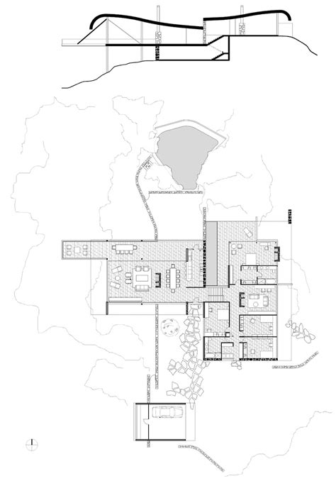 House Floor Plan Architecture Architectuul