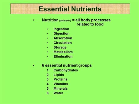 carbohydrates health definition nutrition diets basic health care hce ppt
