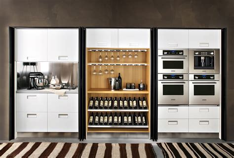 Kitchen Islands With Wine Racks modern italian kitchen design from arclinea home decoz