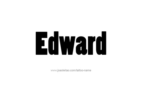 tattoo name edward eddy edwards tattoos