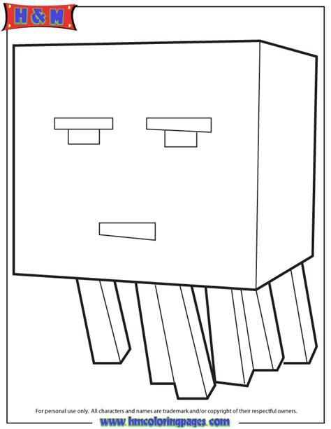 minecraft coloring pages magma cube blaze minecraft magma cube coloring pages blaze best