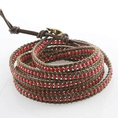 how to bead bracelets how to create a beaded leather wrap bracelet
