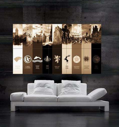 game  thrones posters ideas  pinterest game