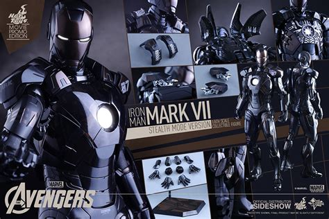 Ironman 3 Stealth Toys Exclusive Iron Iii marvel iron vii stealth mode version sixth scale