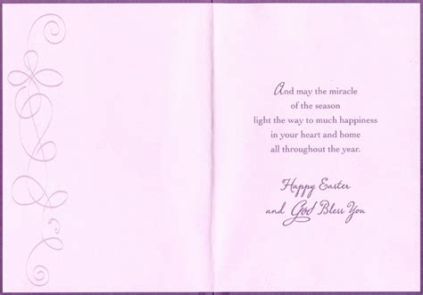catholic easter card template 3 purple candles 1 card 1 envelope designer greetings