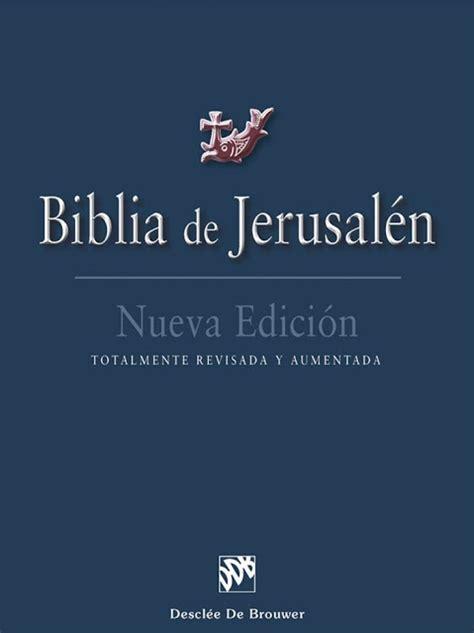 biblia de jerusalen os nueva edicion 8433023225 biblia de jerusalen 4 176 edici 243 n libros cristianos gratis para descargar